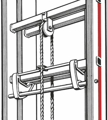 ersatzteil fallhaken f r seilzugleiter hymer 0054097. Black Bedroom Furniture Sets. Home Design Ideas